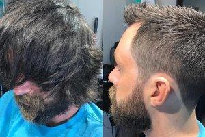 10 невероятных перевоплощений мужчин после выхода от парикмахера