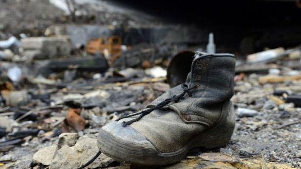 На Донбассе нашли мертвых диверсантов боевиков