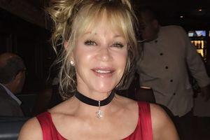 60-летняя Мелани Гриффит засветила нижнее белье на красной дорожке