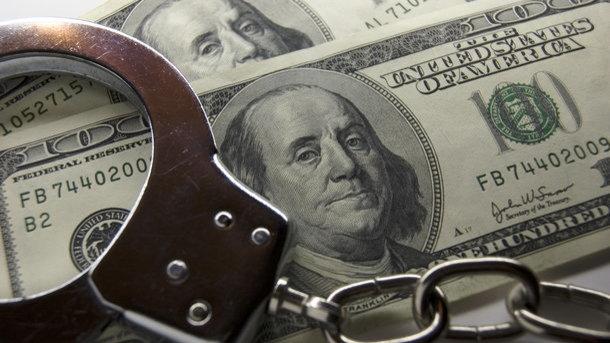 Вовремя получения взятки задержаны глава , заместитель и глава  сектора отдела милиции