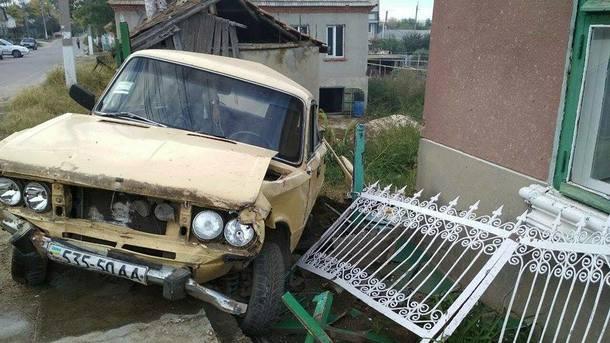Пьяный водитель убил трех бабушек на лавочке, фото Полиция Одесской области/Facebook