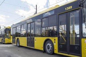 В Киеве изменится движение автобусов и троллейбусов нескольких маршрутов (схемы)