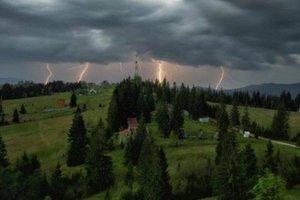На Прикарпатье ожидается шторм