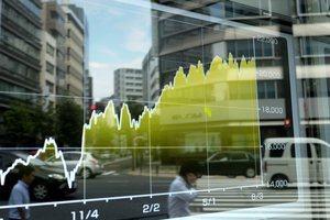 Акции на рынках Азии рекордно подорожали
