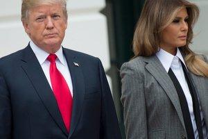 Платье-футляр и пальто за 1300 долларов: Мелания Трамп восхитила стильным образом
