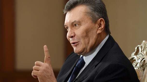 ГПУ вызвала Януковича в Украину