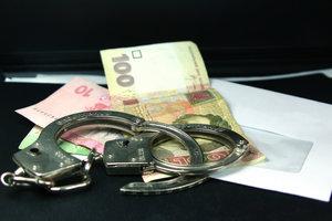 В Киеве глава госпредприятия попался на взятке