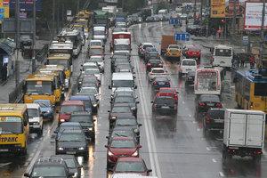 В Киеве запретят движение на двух улицах