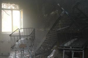 В оккупированном Донецке горел роддом