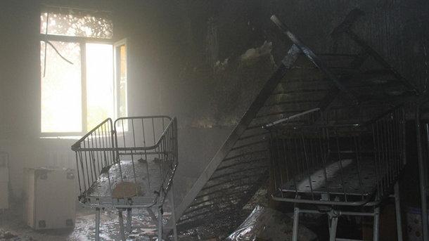 В оккупированном Донецке горел родом