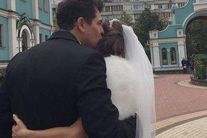 Андрей Джеджула обвенчался с возлюбленной: первые фото
