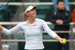 Мария Шарапова впервые после дисквалификации за допинг пробилась в финал турнира