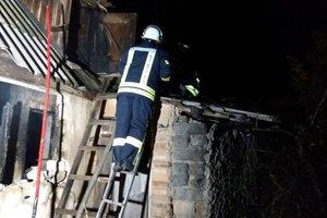 В Харьковской области в пожаре погибли женщина и маленький ребенок