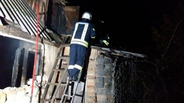 ВХарьковской области вспыхнул пожар вчастном доме, есть погибшие