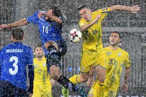 Сборная Украины теряет позиции в рейтинге ФИФА