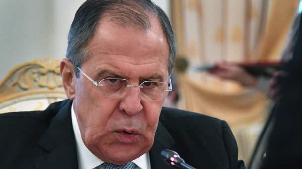 Лавров объявил, что Украина напала наДонбасс
