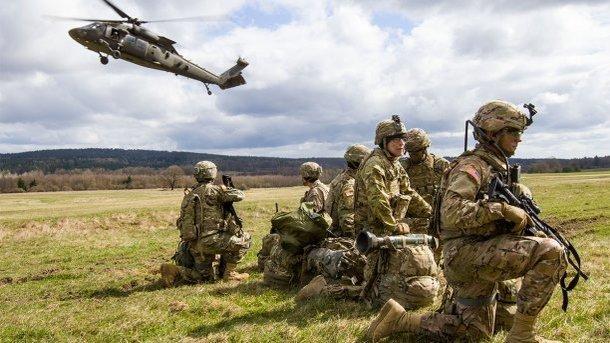 ВЛатвии начались масштабные учения НАТО
