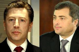 Волкер и Сурков. Фото: AFP