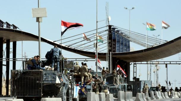 Иракский спецназ взял под контроль Киркук