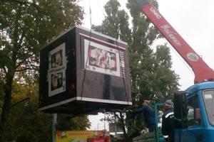 В Киеве массово сносят ларьки на остановках транспорта
