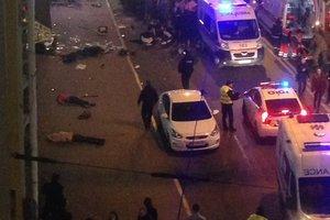 Жуткая авария в центре Харькова: иномарка влетела в толпу, много жертв