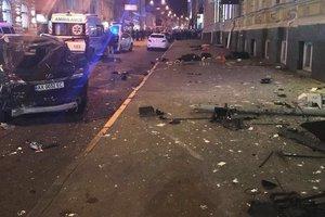 ДТП в Харькове: опубликовано видео первых секунд после жуткой аварии