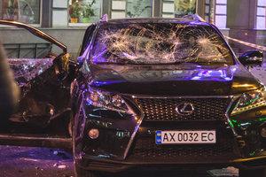 Лексус, совершивший ДТП в Харькове, ранее грубо нарушал правила (видео)