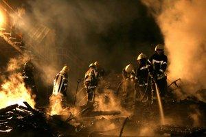 Под Москвой горит магистральный газопровод