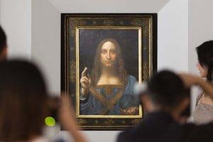 Раскрыта тайна хрустального шара в руке Христа на полотне да Винчи