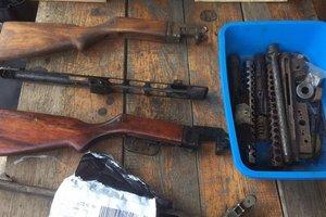 В Одессе нашли подпольную оружейную с пулеметами и винтовками
