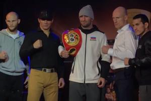Гассиев оказался легче Влодарчика накануне четвертьфинального боя Всемирной боксерской суперсерии