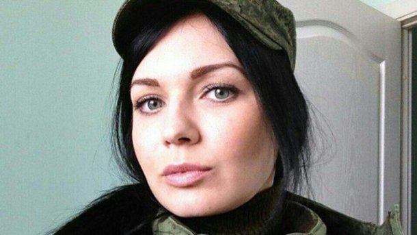 Всети интернет показали фото женщины-боевика из РФ, ликвидированной наДонбассе