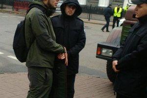 """""""Снайпер"""" под Верховной Радой: в полиции озвучили детали по задержанному"""