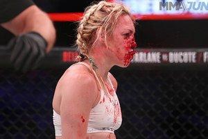 Ужас дня: кровавый поединок в женском ММА (18+)