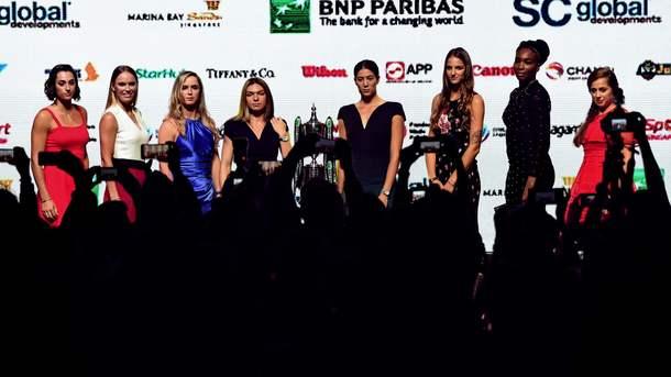 Победой испанки Гарбинье Мугуруса завершился матч итогового турнира WTA вСингапуре