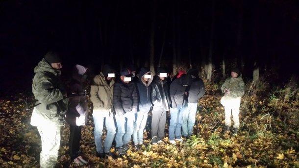 ВСумской области задержали более десяти россиян