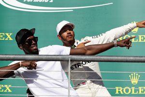 Усейн Болт вдохновил Хэмилтона на победу в Гран-при США