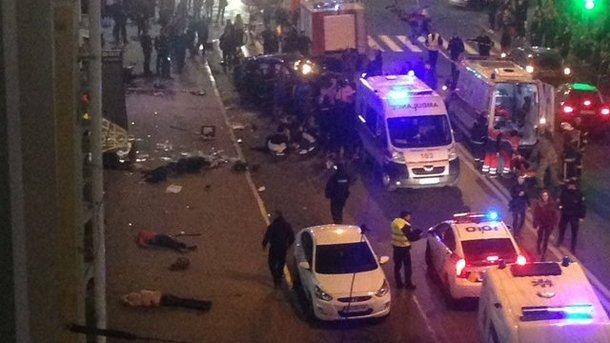 ДТП вХарькове: юрист водителя Фольксваген сделал объявление