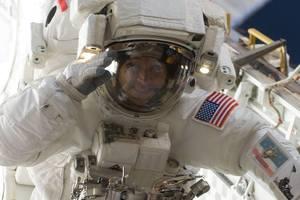 Астронавт похвастался невероятными фото Киева из космоса