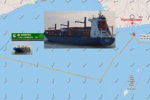Нигерийские пираты похитили 6 человек из экипажа немецкого судна