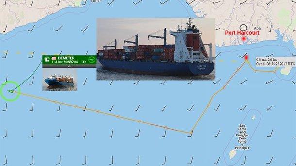 Нигерийские пираты похитили 6 человек изэкипажа германского судна