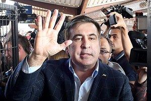 Суд оставил в силе штраф Саакашвили за прорыв границы Украины