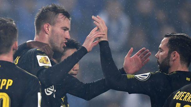 Дортмундская «Боруссия» вышла в1/8 финала Кубка Германии