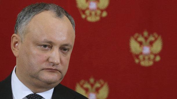 Парламент Молдовы пока непланирует импичмент Додона