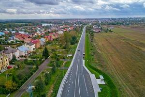 Гройсман показал отремонтированную трассу с высоты птичьего полета: опубликованы фото
