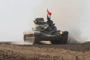 Армия Ирака начинает наступление на ИГИЛ на границе с Сирией
