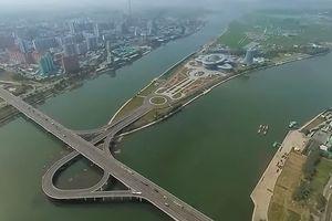 Панораму самого закрытого города на планете сняли на видео