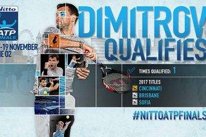 Марин Чилич и Григор Димитров сыграют в Итоговом чемпионате АТР