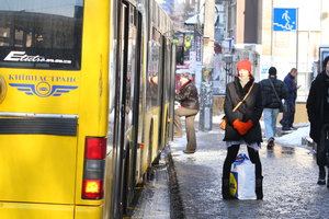 В ночь на 26 октября в Киеве изменится движение троллейбусов