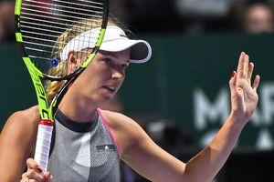 Каролин Возняцки обыграла в Финале WTA первую ракетку мира